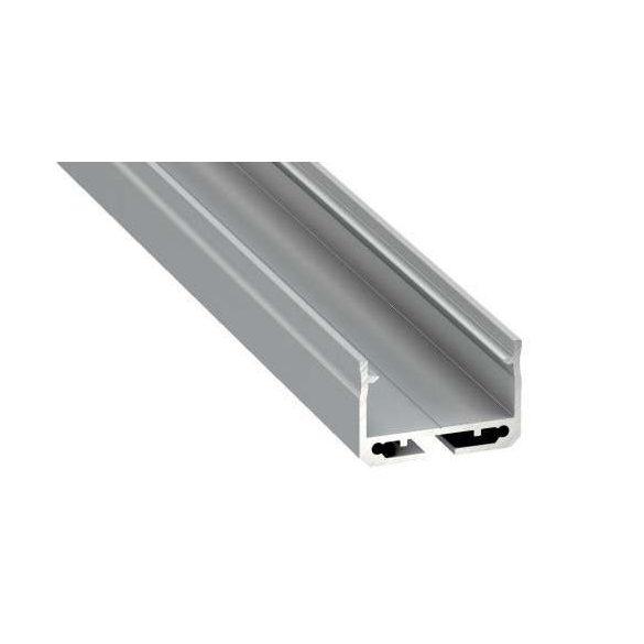 LED Alumínium Profil SILEDA Ezüst 2 méter