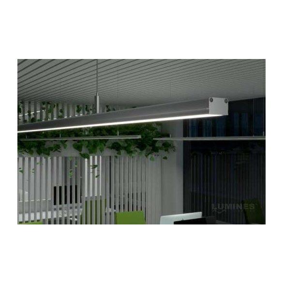 LED Alumínium Profil SILEDA Fehér 2 méter