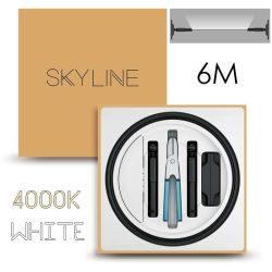 SKYLINE AURORA EXKLUZÍV Indirekt világítás 24V 13,5W/m 4000K 6m hosszú Fehér