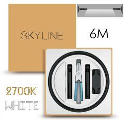 SKYLINE AURORA EXKLUZÍV Direkt világítás 24V 10W/m 2700K 6m hosszú Fehér