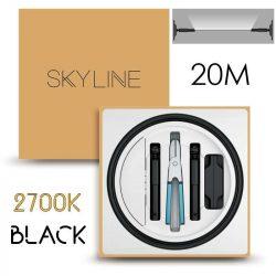 SKYLINE MILKY WAY EXKLUZÍV Indirekt világítás 24V 8,7W/m 2700K 20m hosszú Fekete