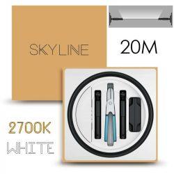 SKYLINE MILKY WAY EXKLUZÍV Indirekt világítás 24V 8,7W/m 2700K 20m hosszú Fehér