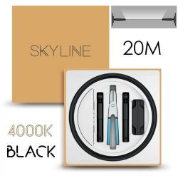 SKYLINE MILKY WAY EXKLUZÍV Indirekt világítás 24V 8,7W/m 4000K 20m hosszú Fekete