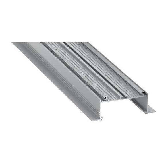 LED Alumínium Profil SORGA Ezüst 1 méter