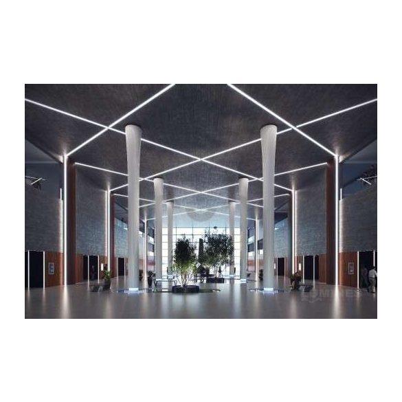 LED Alumínium Profil SORGA Fehér 2 méter