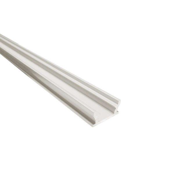 Alumínium led profil led szalagokhoz Lépésálló Ezüst 2 méteres
