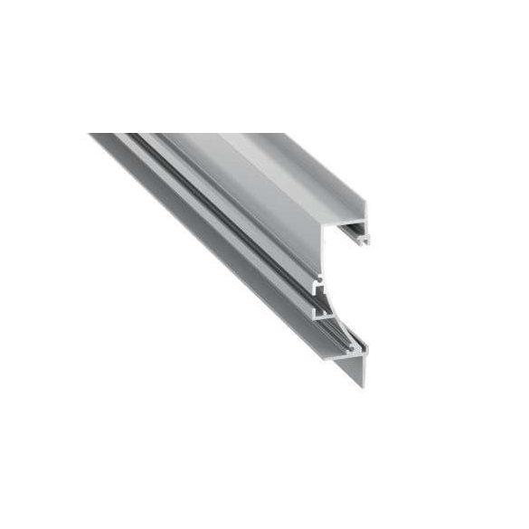 LED Alumínium Profil TIANO Ezüst 1 méter