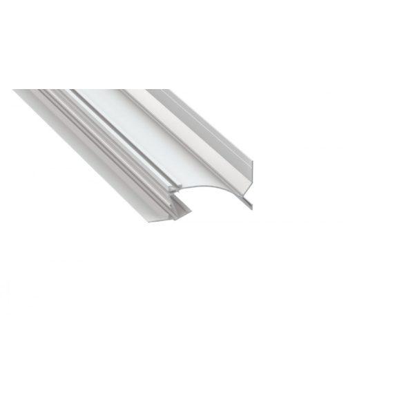 LED Alumínium Profil TOPO Fehér 2 méter