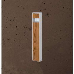 TOTEM SLIM Kültéri Beton Lámpa Csokoládé