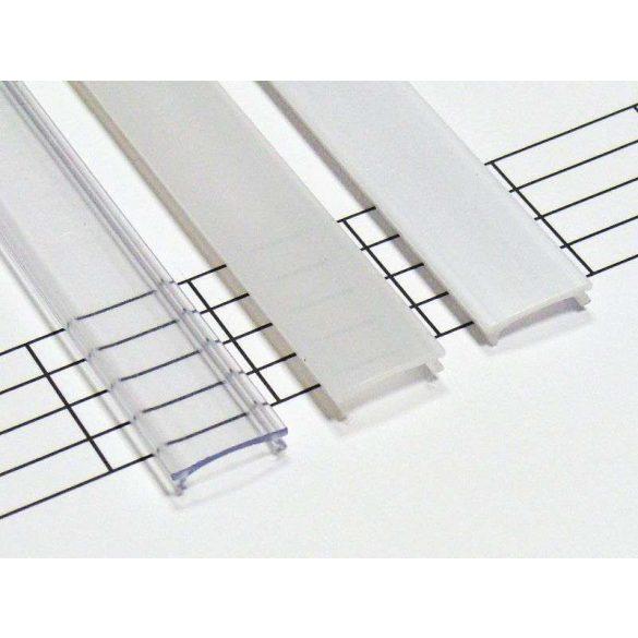 Átlátszó - Transparent PMMA takaróprofil 1 méter