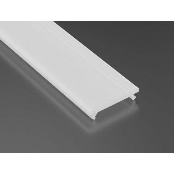 Tejfehér PMMA takaróprofil 1 méteres profilhoz