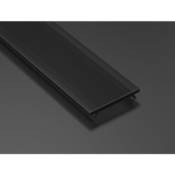 Fekete PMMA takaróprofil Általános típusú 2 méter