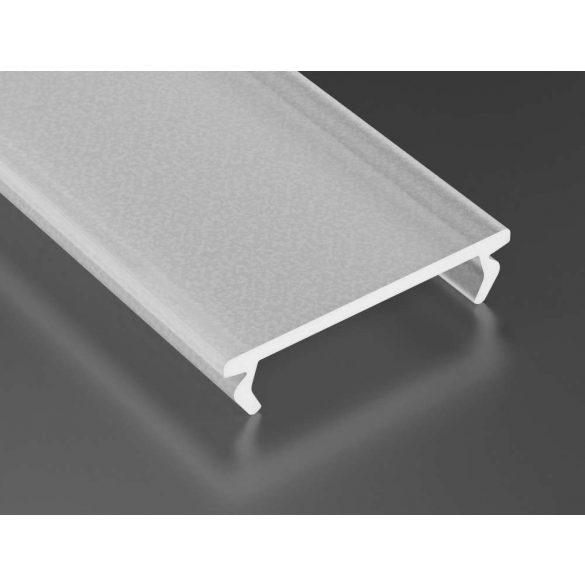 Opál-Frozen PMMA takaróprofil DOUBLE típus 2 méter