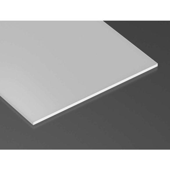 Takaróprofilok SUPERWIDE PLEXI becsúsztatható típus 2 méter Opál