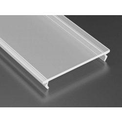 Opál PMMA takaróprofil Széles Led profilokhoz 1 méteres