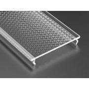 Prismatic takaróprofil Széles Led profilokhoz 2 méteres