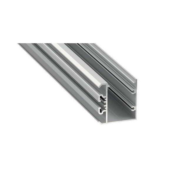 LED Alumínium Profil UNICO Ezüst 1 méter
