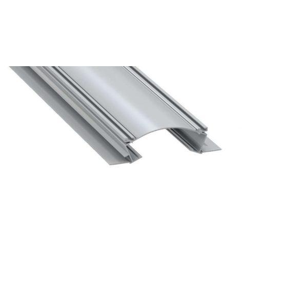 LED Alumínium Profil VEDA Ezüst 2 méter