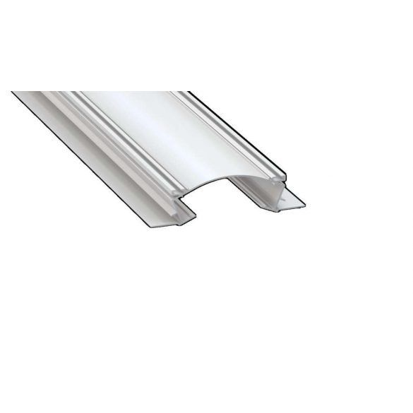 LED Alumínium Profil VEDA Fehér 2 méter