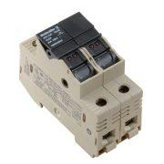 Weidmüller Biztosító dupla sorkapocs LED visszajelzővel - WSI 25/2 10X38/LED