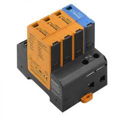 Weidmüller Túlfeszültség levezető - VPU AC I 3+1 300/12.5 Optikai állapotjelzővel
