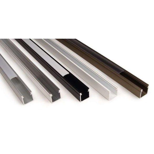 LED Alumínium Profil Magas falú [Y] Ezüst 2 méter
