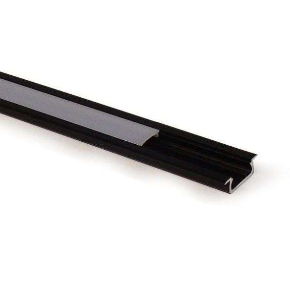 LED Alumínium Profil Beépíthető [Z] Ezüst 1 méter