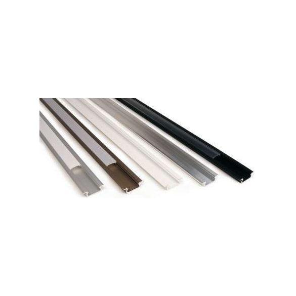LED Alumínium Profil Beépíthető [Z] Ezüst 2 méter