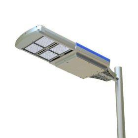 Közút- sétány- közterület napelemes lámpa