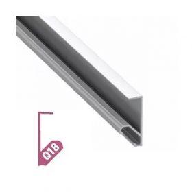 LED Alumínium Profil Polcél világításhoz [Q18]