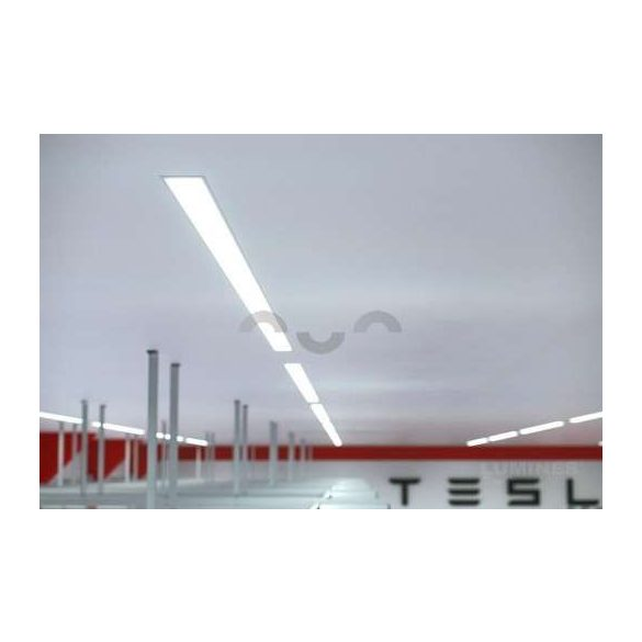 LED Alumínium Profil inLARGO Ezüst 1 méter