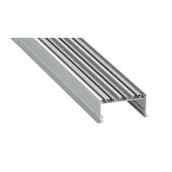 Led Alumínium Profil inLARGO 2 méter Ezüst
