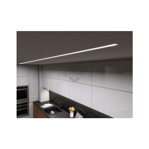 LED Alumínium Profil inTALIA Ezüst 1 méter