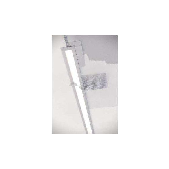 Led Alumínium Profil inTALIA 1 méter Ezüst
