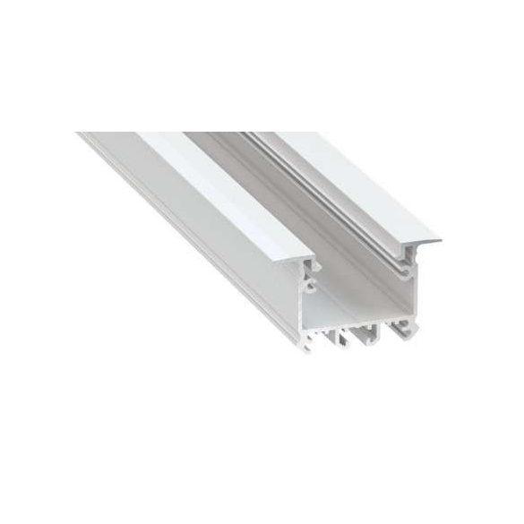Led Alumínium Profil inTALIA 1 méter Fehér