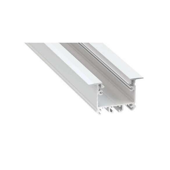 Led Alumínium Profil inTALIA 2 méter Fehér