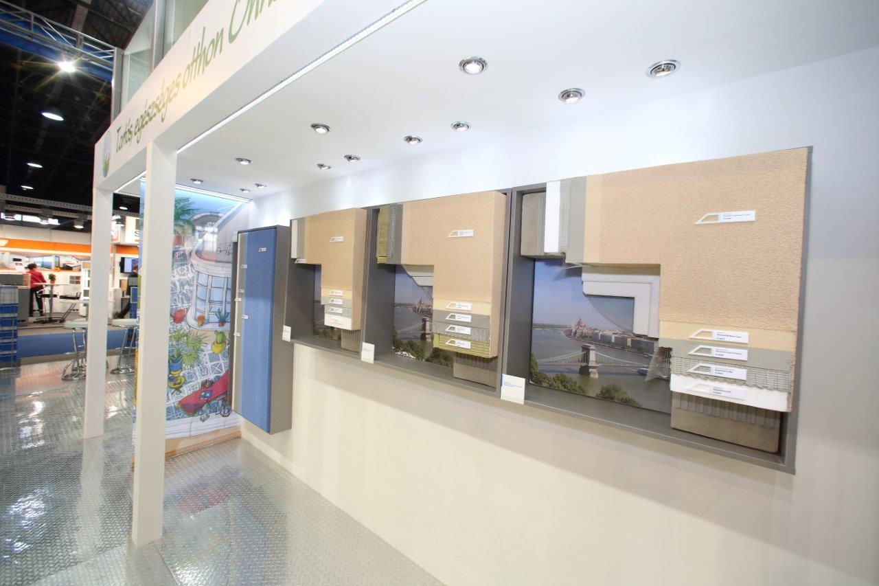 Mapei stand Construma kiállítás